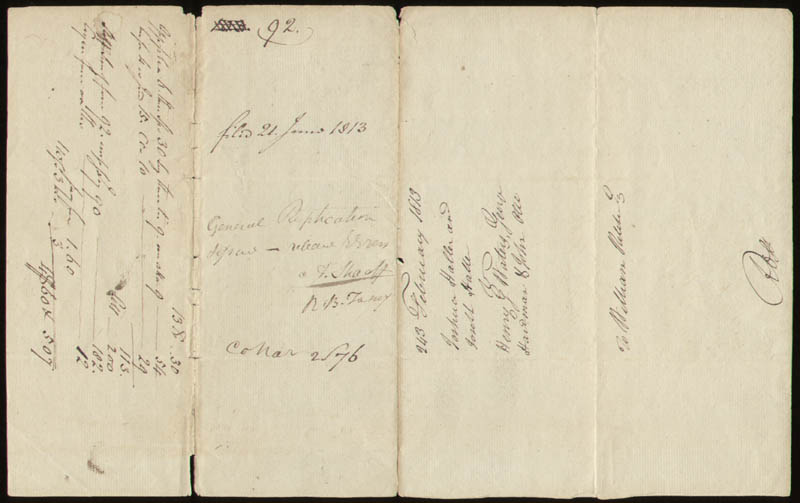 Image 1 for Chief Justice Roger B. Taney - Document Signed 02/21/1813 - HFSID 27616