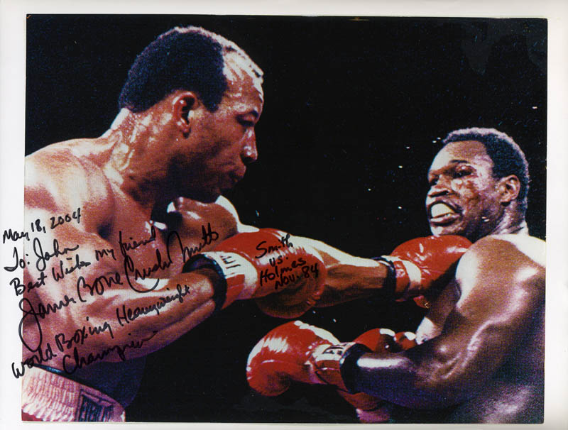Image 1 for James 'Bonecrusher' Smith - Autographed Inscribed Photograph 05/18/2004 - HFSID 276275