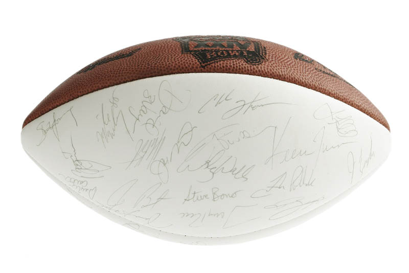 Image 4 for The San Francisco Forty Niners - Football Signed with co-signers - HFSID 276323