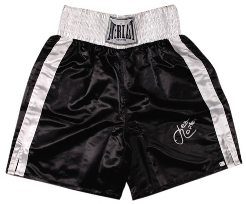 Image 1 for Ken Norton - Boxing Trunks Signed - HFSID 276381