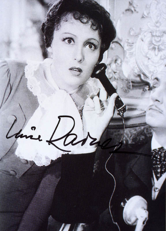 Image 1 for Luise Rainer - Autographed Signed Photograph - HFSID 276399