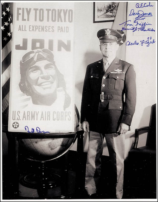 Image 1 for Doolittle Raiders - Autographed Signed Photograph with co-signers - HFSID 276457