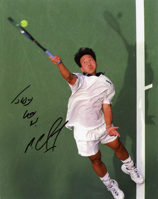 Image 1 for Michael Chang - Autographed Signed Photograph - HFSID 276481