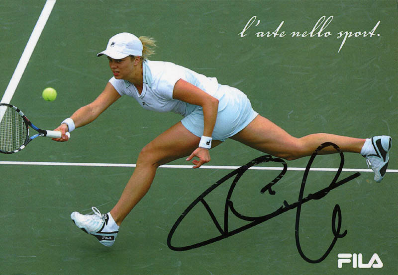 Image 1 for Kim Clijsters - Autographed Signed Photograph - HFSID 276489