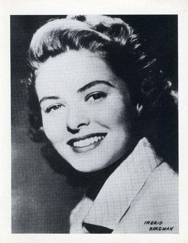 Image 1 for Ingrid Bergman - Photograph Unsigned - HFSID 276525