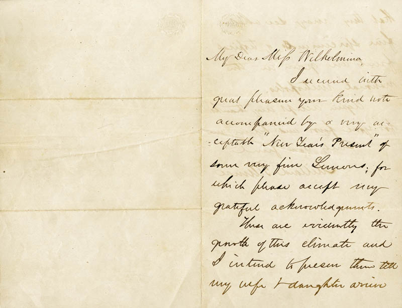 Image 1 for President Millard Fillmore - Autograph Letter Signed - HFSID 27661