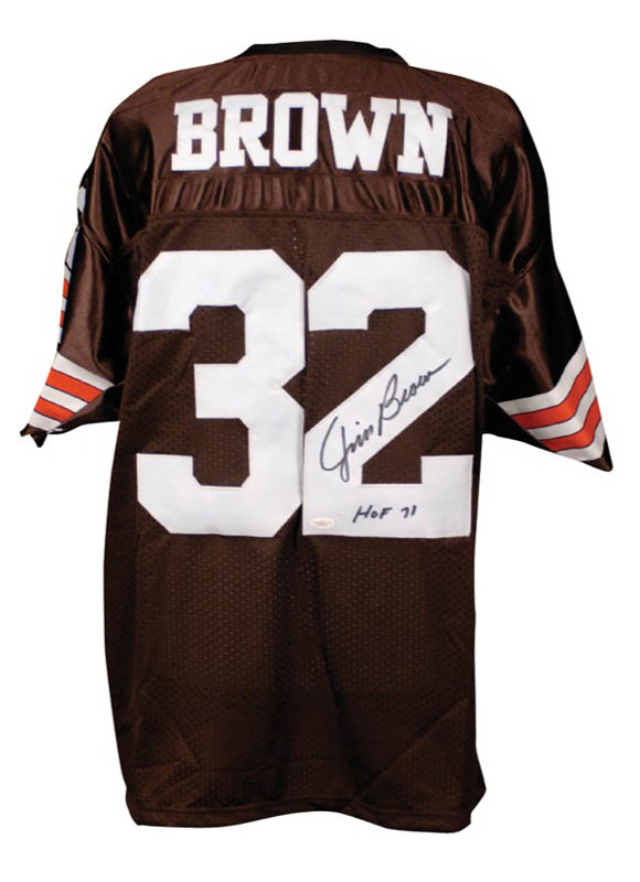 Image 1 for Jim Brown - Jersey Signed - HFSID 276838