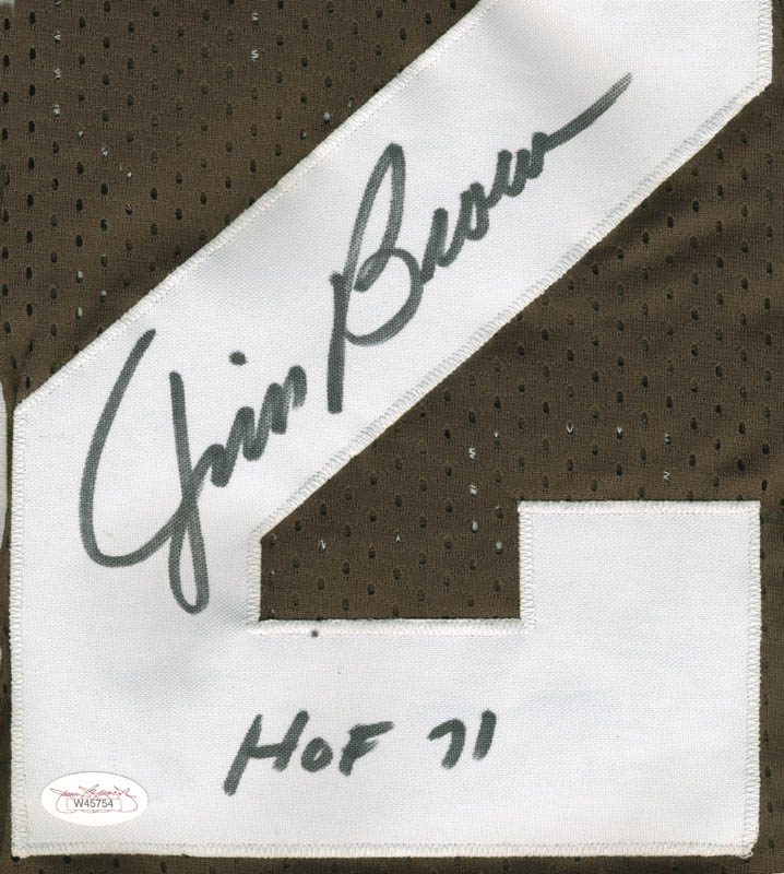 Image 3 for Jim Brown - Jersey Signed - HFSID 276838