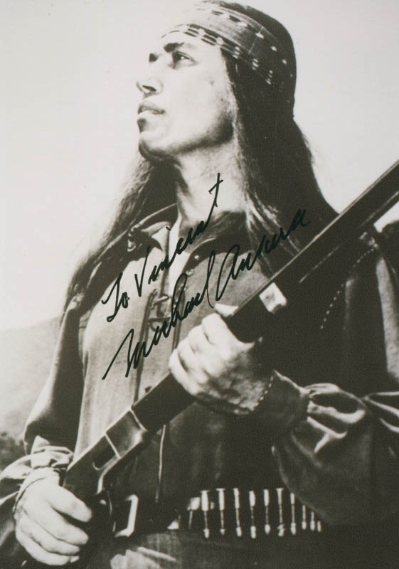 Image 1 for Michael Ansara - Autographed Inscribed Photograph - HFSID 276998