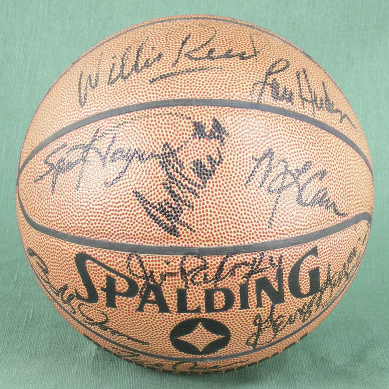 Image 1 for Willis Reed - Basketball Signed with co-signers - HFSID 277082