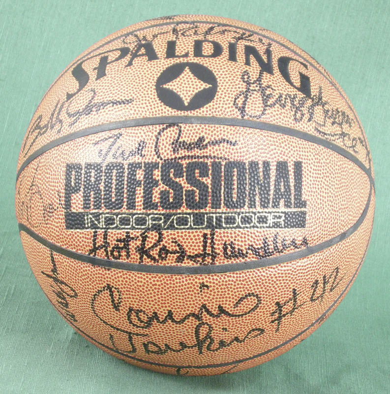 Image 3 for Willis Reed - Basketball Signed with co-signers - HFSID 277082