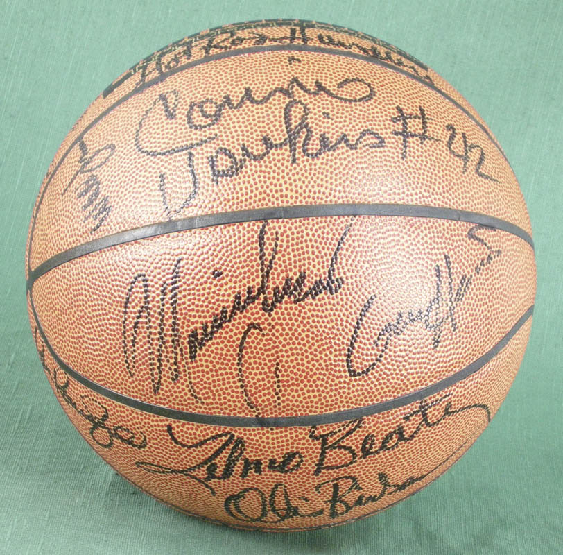 Image 4 for Willis Reed - Basketball Signed with co-signers - HFSID 277082