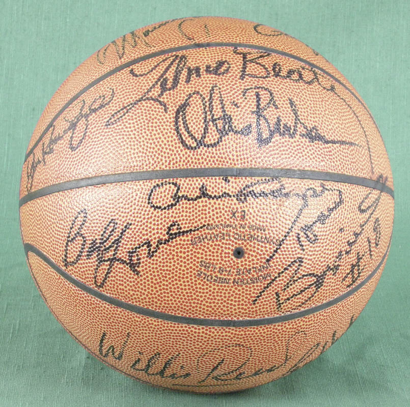 Image 5 for Willis Reed - Basketball Signed with co-signers - HFSID 277082