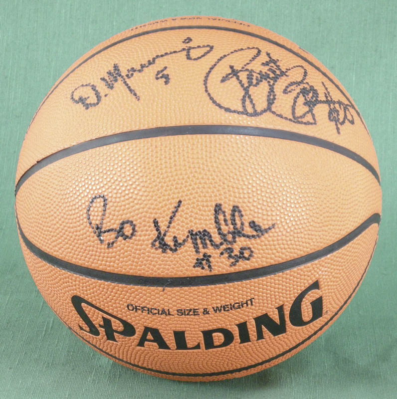 Image 4 for The Los Angeles Clippers - Basketball Signed Circa 1990 with co-signers - HFSID 277135
