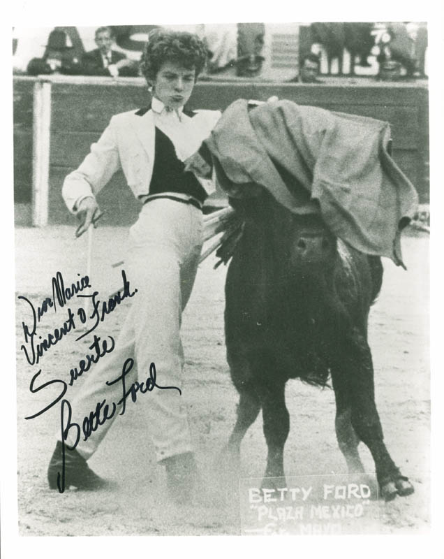 Image 1 for Bette Ford - Autographed Inscribed Photograph - HFSID 277175