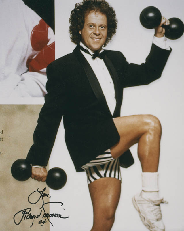 Image 1 for Richard Simmons - Autographed Signed Photograph 2004 - HFSID 277190