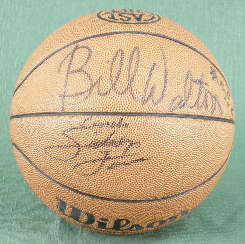 Image 1 for Bill Walton - Basketball Signed co-signed by: Dan Majerle, Danny Manning, David Benoit, Dana Barros - HFSID 277200