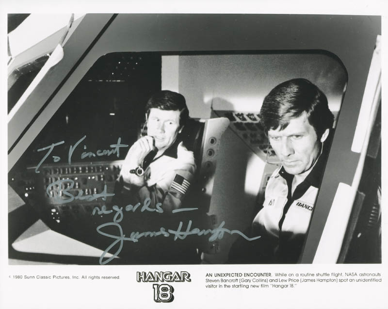 Image 1 for James Hampton - Autographed Inscribed Photograph - HFSID 277207
