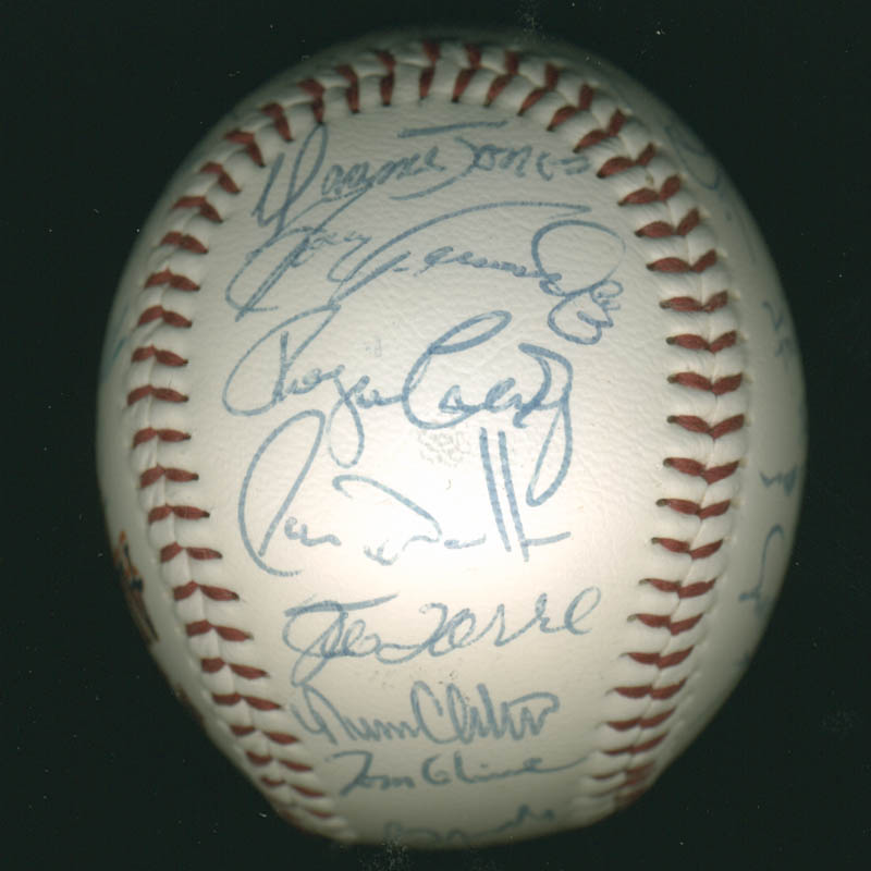 Image 5 for Baseball All-stars - Autographed Signed Baseball Circa 1992 with co-signers - HFSID 277290