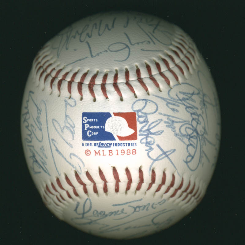 Image 7 for Baseball All-stars - Autographed Signed Baseball Circa 1992 with co-signers - HFSID 277290