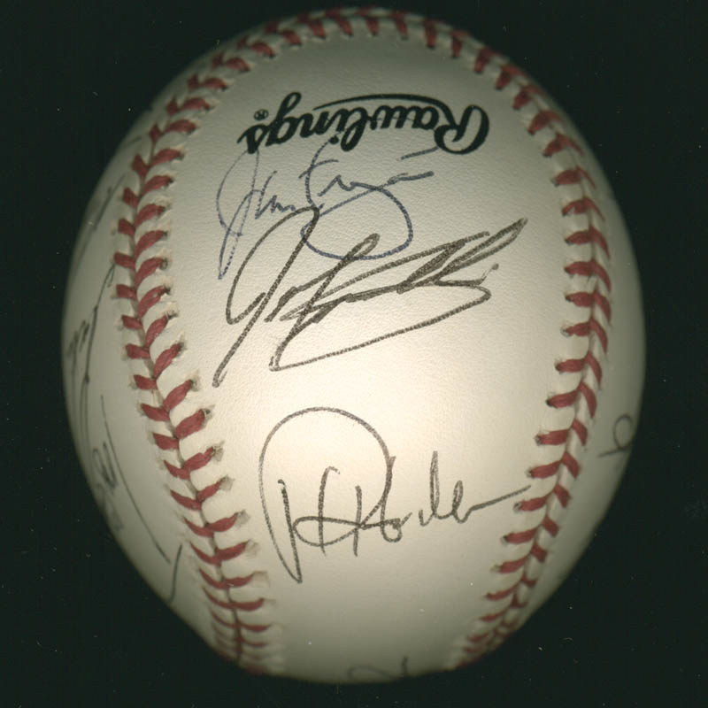 Image 3 for The Philadelphia Phillies - Autographed Signed Baseball with co-signers - HFSID 277305