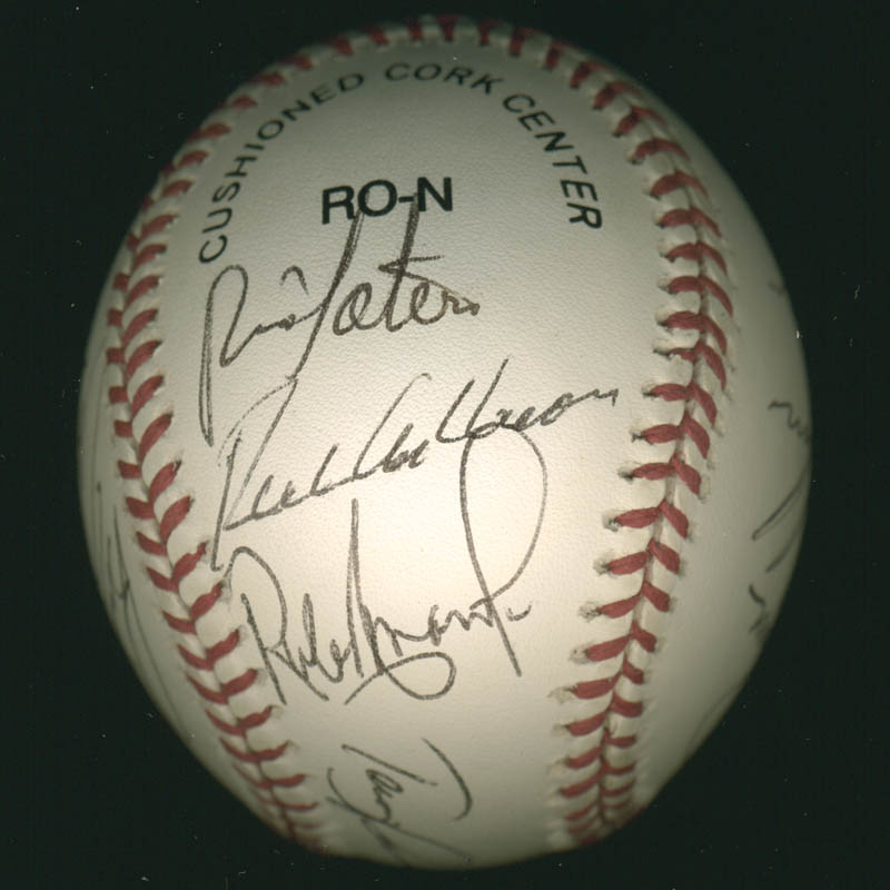 Image 4 for The Philadelphia Phillies - Autographed Signed Baseball with co-signers - HFSID 277305