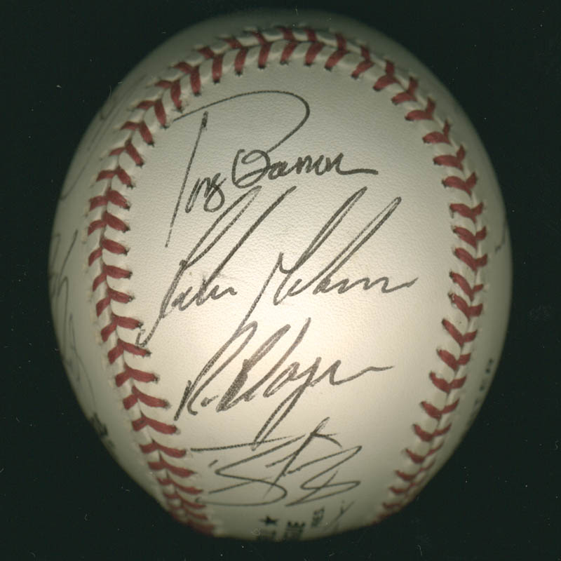Image 5 for The Philadelphia Phillies - Autographed Signed Baseball with co-signers - HFSID 277305