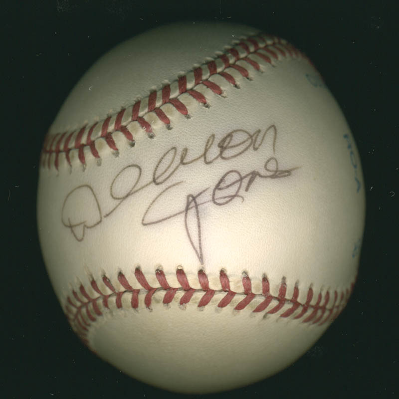 Image 1 for Deacon Jones - Autographed Signed Baseball - HFSID 277312