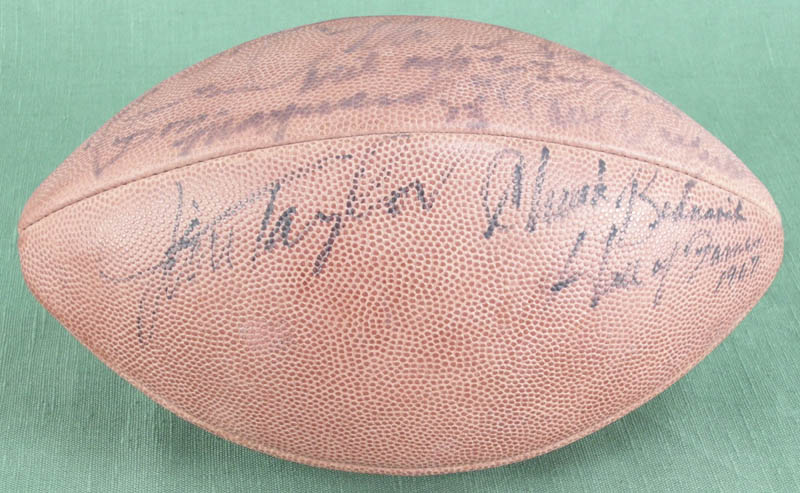 Image 3 for Hall Of Fame Football - Football Signed with co-signers - HFSID 277322