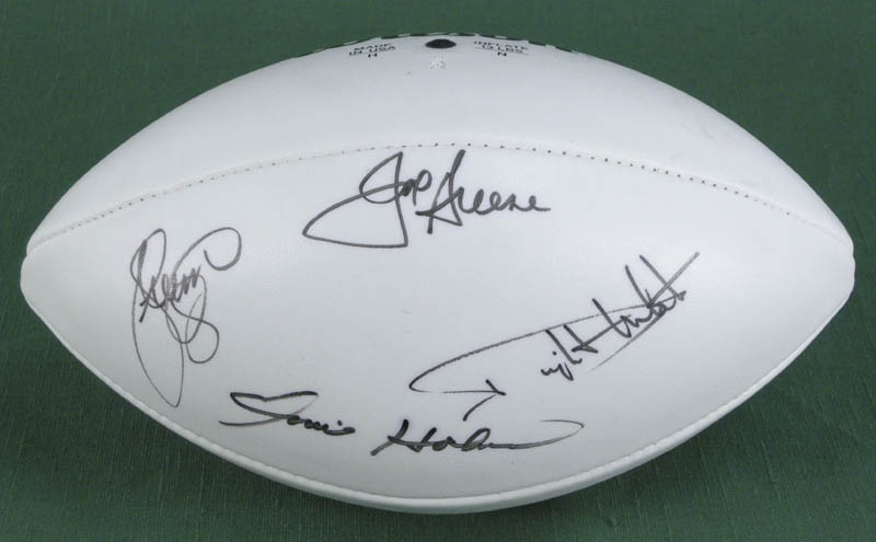 competitive price 1320a 0be2d The Pittsburgh Steelers - Football Signed co-signed by: Joe ...