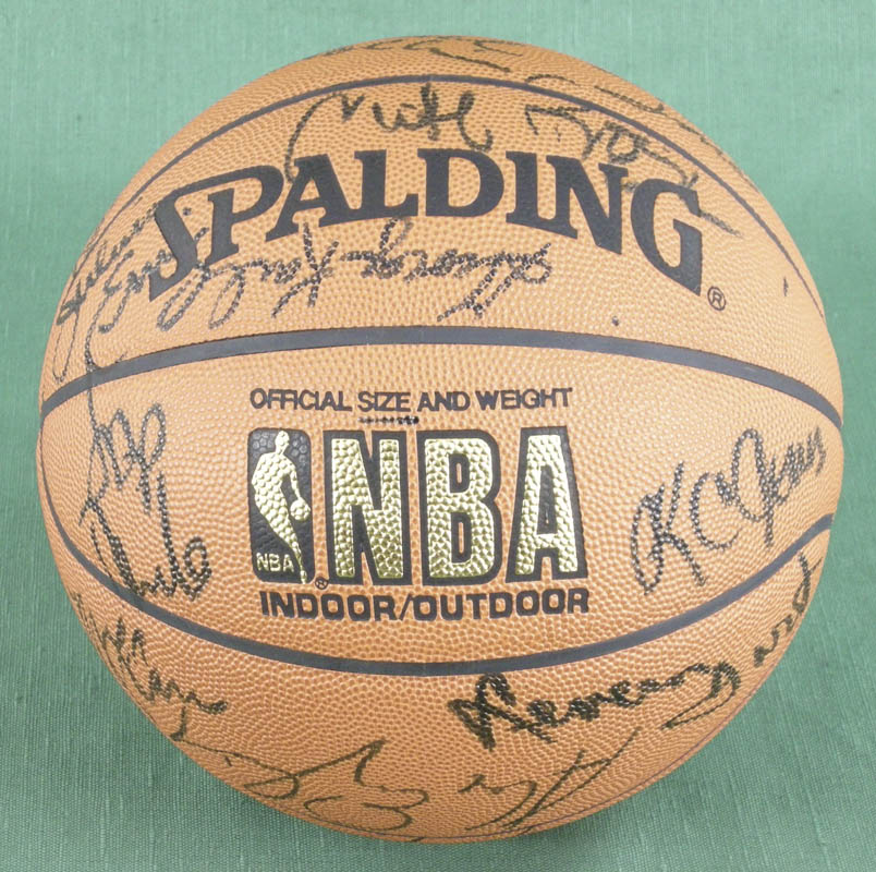 Image 1 for Julius 'Dr. J.' Erving - Basketball Signed with co-signers - HFSID 277326