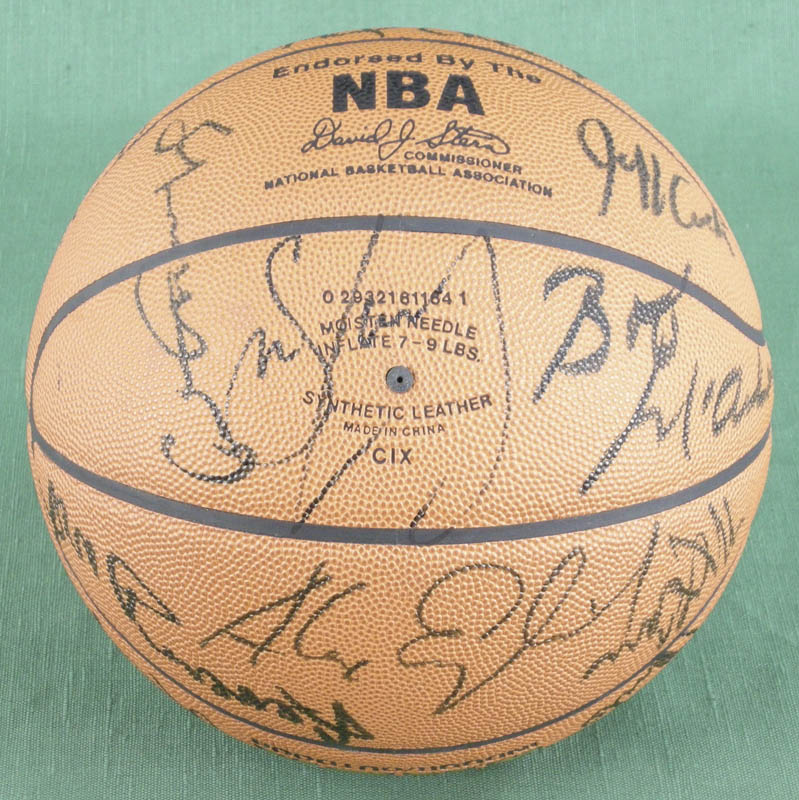 Image 3 for Julius 'Dr. J.' Erving - Basketball Signed with co-signers - HFSID 277326