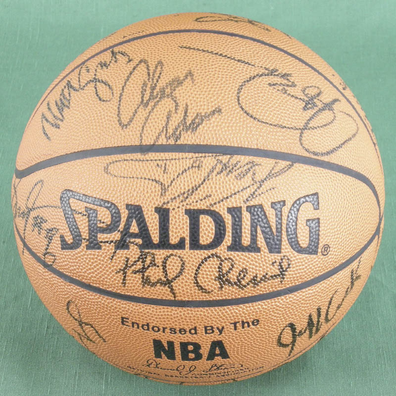 Image 4 for Julius 'Dr. J.' Erving - Basketball Signed with co-signers - HFSID 277326