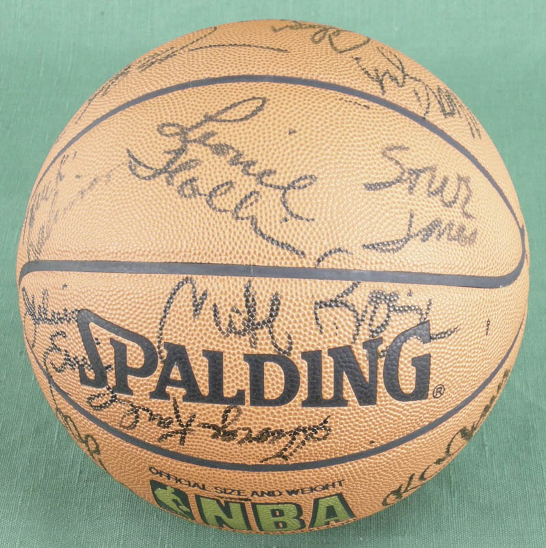 Image 5 for Julius 'Dr. J.' Erving - Basketball Signed with co-signers - HFSID 277326
