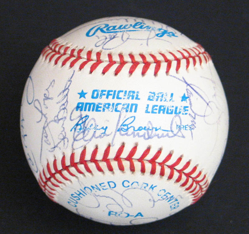 Image 3 for The Baltimore Orioles - Autographed Signed Baseball with co-signers - HFSID 277335