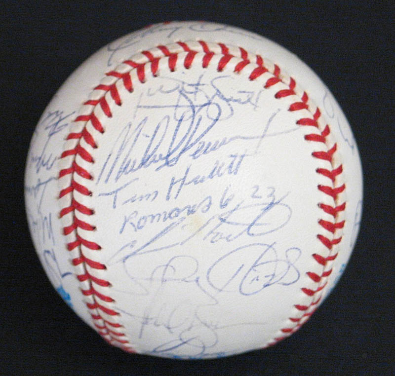 Image 5 for The Baltimore Orioles - Autographed Signed Baseball with co-signers - HFSID 277335