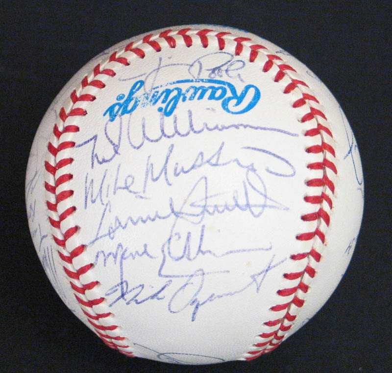 Image 7 for The Baltimore Orioles - Autographed Signed Baseball with co-signers - HFSID 277335