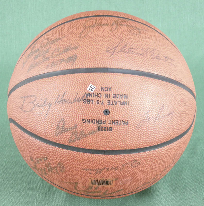 Image 5 for Sam Jones - Basketball Signed with co-signers - HFSID 277339