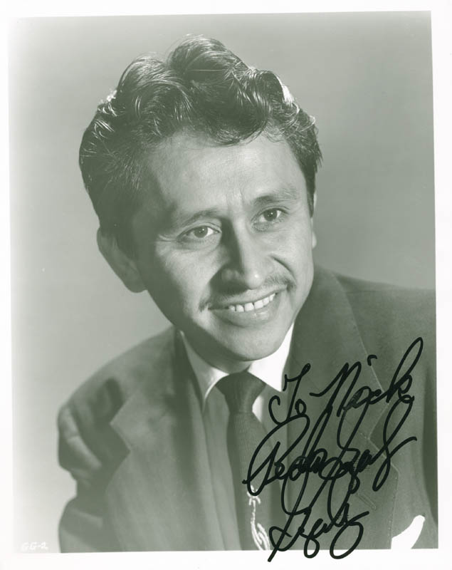 Image 1 for Pedro Gonzalez-gonzalez - Autographed Inscribed Photograph - HFSID 277398