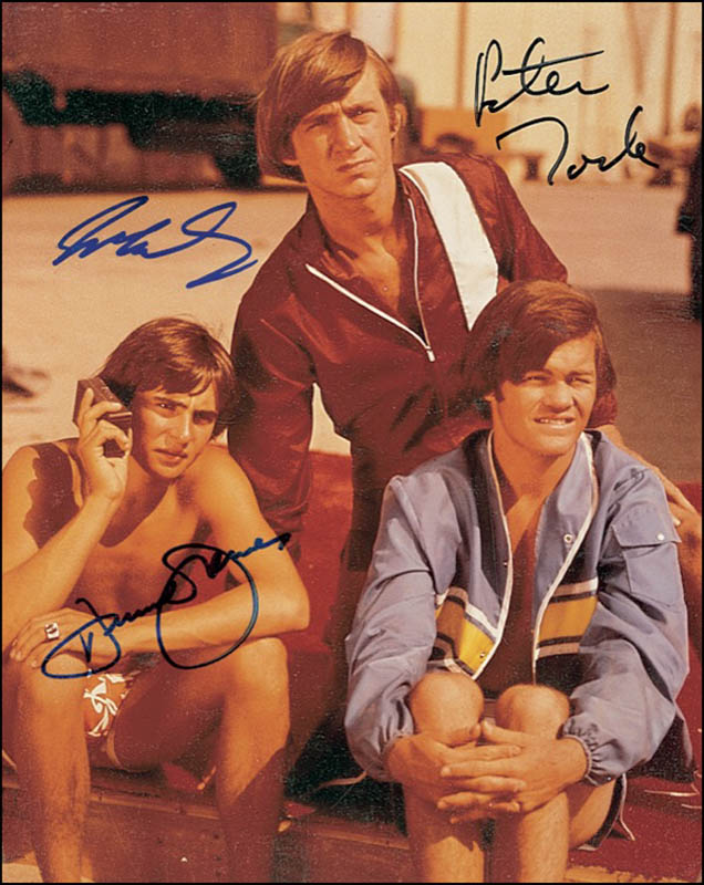 Image 1 for The Monkees - Autographed Signed Photograph co-signed by: The Monkees (Davy Jones), The Monkees (Mickey Dolenz), The Monkees (Peter Tork) - HFSID 277429