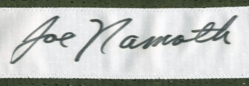 Image 3 for Joe Namath - Jersey Signed - HFSID 277487