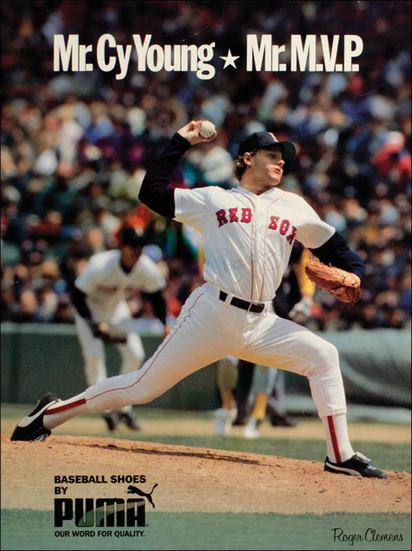 Image 1 for Roger Clemens - Autographed Signed Poster - HFSID 277492