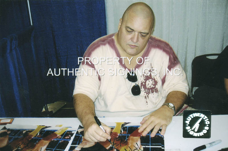 Image 4 for Hulk Hogan - Autographed Signed Photograph co-signed by: King Kong Bundy - HFSID 277510