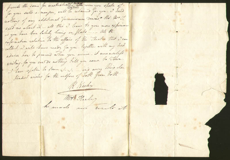 Image 1 for Robert Keeley - Autograph Letter Signed 07/1829 - HFSID 277580