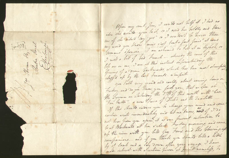 Image 3 for Robert Keeley - Autograph Letter Signed 07/1829 - HFSID 277580