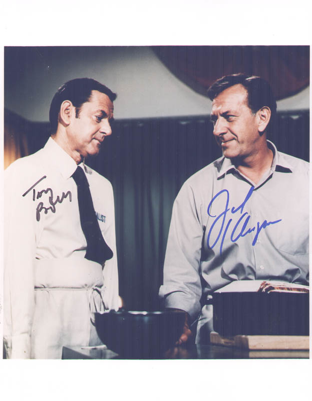 Image 1 for The Odd Couple TV Cast - Autographed Signed Photograph co-signed by: Jack Klugman, Tony Randall - HFSID 277630