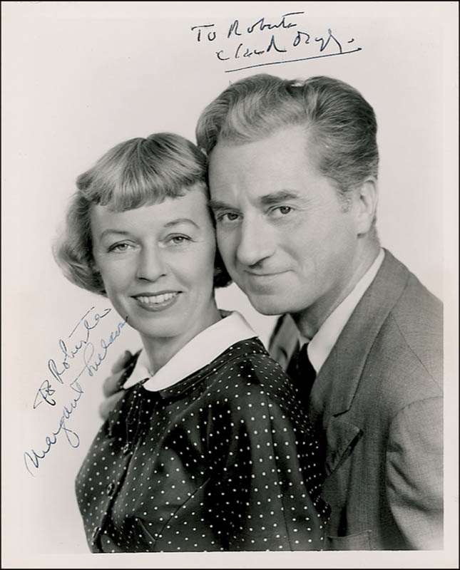Image 1 for Janus - Play Cast - Autographed Inscribed Photograph co-signed by: Claude Dauphin, Margaret Sullavan - HFSID 277635
