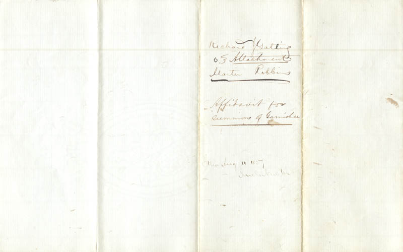 Image 3 for Richard J. Gatling - Document Signed 10/1857 - HFSID 277691