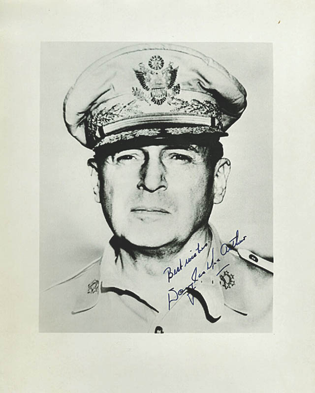 Image 1 for General Douglas Macarthur - Autographed Signed Photograph - HFSID 277692