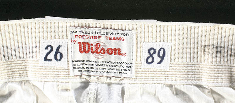 Image 7 for Wade Boggs - Uniform (Game Used) - HFSID 277707